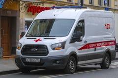 Φορτηγό ασθενοφόρων στοκ φωτογραφίες με δικαίωμα ελεύθερης χρήσης