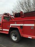 Φορτηγό δασικής πυρκαγιάς έκτακτης ανάγκης Στοκ εικόνες με δικαίωμα ελεύθερης χρήσης