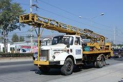 Φορτηγό γερανών της επιχείρησης Lanna Στοκ Εικόνα