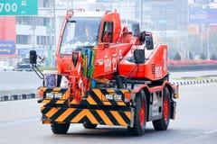 Φορτηγό γερανών Στοκ φωτογραφία με δικαίωμα ελεύθερης χρήσης