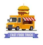 Φορτηγό γρήγορου φαγητού Στοκ Εικόνα