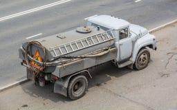 Φορτηγό δεξαμενών νερού Στοκ Φωτογραφίες