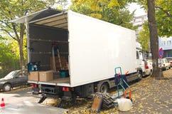 φορτηγό επαναμετάθεσης στοκ εικόνα