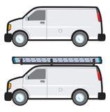 Φορτηγό εργασίας Στοκ εικόνα με δικαίωμα ελεύθερης χρήσης
