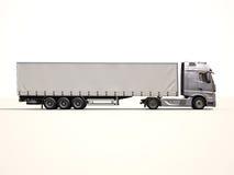 Φορτηγό ημιρυμουλκούμενων οχημάτων Στοκ Εικόνες