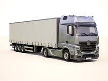Φορτηγό ημιρυμουλκούμενων οχημάτων Στοκ Φωτογραφίες