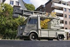 Φορτηγό κάδων παλαιός-χρονομέτρων τύπων Χ της Citroen Στοκ Εικόνα