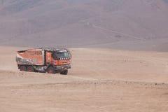 φορτηγό κρησφύγετων oever στοκ εικόνες με δικαίωμα ελεύθερης χρήσης