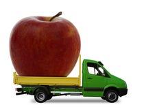 φορτηγό μήλων Στοκ Εικόνα
