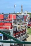 Φορτηγό μεταφορών στο Cabo Polonio Στοκ εικόνα με δικαίωμα ελεύθερης χρήσης