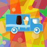 Φορτηγό παγωτού απεικόνιση αποθεμάτων