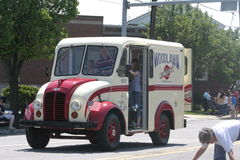 Φορτηγό παγωτού Στοκ εικόνα με δικαίωμα ελεύθερης χρήσης