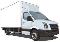 Φορτηγό παράδοσης Στοκ εικόνα με δικαίωμα ελεύθερης χρήσης