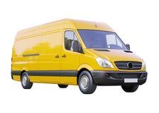 Φορτηγό που απομονώνεται εμπορικό στοκ εικόνα με δικαίωμα ελεύθερης χρήσης