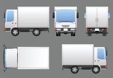 Φορτηγό που προετοιμάζεται για το μαρκάρισμα Στοκ φωτογραφία με δικαίωμα ελεύθερης χρήσης