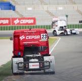 Φορτηγό που συναγωνίζεται - Antonio Albacete Στοκ Φωτογραφία