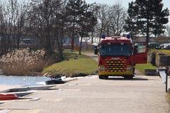 Φορτηγό πυροσβεστών Στοκ Εικόνες