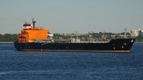 Φορτηγό πλοίο πετρελαιοφόρων Στοκ φωτογραφία με δικαίωμα ελεύθερης χρήσης