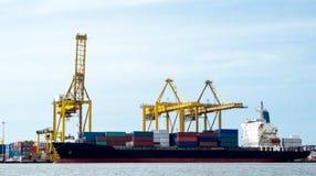 Φορτηγό πλοίο Στοκ φωτογραφίες με δικαίωμα ελεύθερης χρήσης