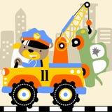 Φορτηγό ρυμούλκησης απεικόνιση αποθεμάτων