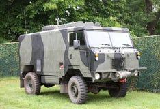 φορτηγό στρατιωτικό Στοκ Εικόνες
