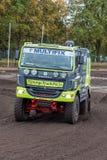 Φορτηγό συνάθροισης του Frank Tilburgs Στοκ Εικόνα