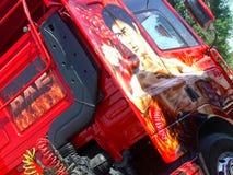 Φορτηγό συνήθειας DAF του Bruce Lee Στοκ φωτογραφίες με δικαίωμα ελεύθερης χρήσης