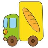 Φορτηγό σχεδίων παιδιών Στοκ Φωτογραφίες