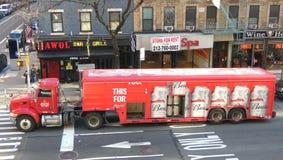 Φορτηγό της Budweiser Στοκ φωτογραφίες με δικαίωμα ελεύθερης χρήσης