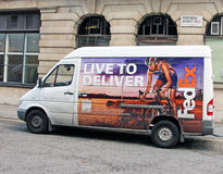 Φορτηγό της Fedex Στοκ Εικόνες
