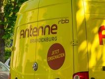 Φορτηγό του Βραδεμβούργου Rbb Antenne Στοκ Εικόνα