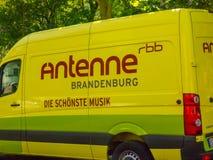 Φορτηγό του Βραδεμβούργου Rbb Antenne Στοκ Φωτογραφίες