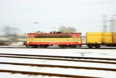 Φορτηγό τρένο Στοκ Φωτογραφίες
