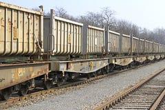 Φορτηγό τρένο Στοκ Φωτογραφία