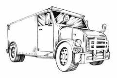 Φορτηγό χάλυβα ελεύθερη απεικόνιση δικαιώματος