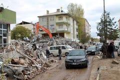 φορτηγό ercis σεισμού Στοκ Φωτογραφίες