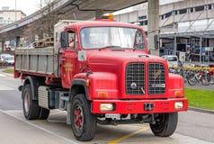 Φορτηγό Saurer D330B Στοκ φωτογραφία με δικαίωμα ελεύθερης χρήσης