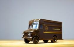 Φορτηγό UPS Στοκ φωτογραφία με δικαίωμα ελεύθερης χρήσης