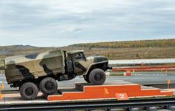 Φορτηγό ural-4320 στρατού Στοκ Εικόνες