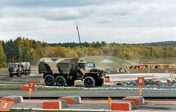Φορτηγό ural-4320 στρατού Στοκ φωτογραφία με δικαίωμα ελεύθερης χρήσης