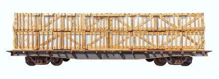 Φορτωμένη μεταφορά φορτίου στοκ φωτογραφία με δικαίωμα ελεύθερης χρήσης