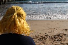 φορτωμένο αεράκι βυτιοφόρο θάλασσας πετρελαίου στοκ φωτογραφία με δικαίωμα ελεύθερης χρήσης
