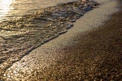 φορτωμένο αεράκι βυτιοφόρο θάλασσας πετρελαίου Στοκ Εικόνα