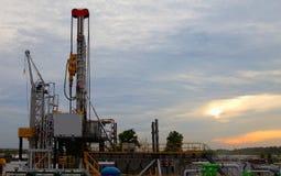 Φορτωτήρας πετρελαίου στοκ φωτογραφία