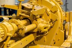 Φορτωτήρας πετρελαίου με τη τοπ κίνηση για την ωκεάνια διάτρηση Στοκ Εικόνες