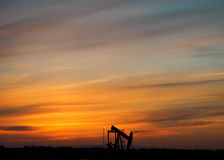 φορτωτήρας πετρελαίου Στοκ Εικόνες