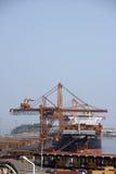 φορτώνοντας σκάφος 2 στοκ φωτογραφία με δικαίωμα ελεύθερης χρήσης