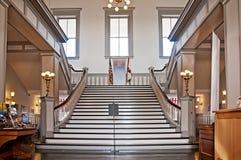 Φουαγιέ και σκαλοπάτια Στοκ εικόνες με δικαίωμα ελεύθερης χρήσης