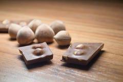 Φουντούκι και σοκολάτα 18 Στοκ φωτογραφία με δικαίωμα ελεύθερης χρήσης