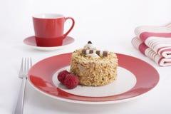 φουντούκι καφέ κέικ Στοκ φωτογραφία με δικαίωμα ελεύθερης χρήσης